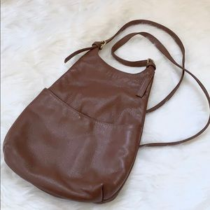 Vintage Leather Mini Backpack